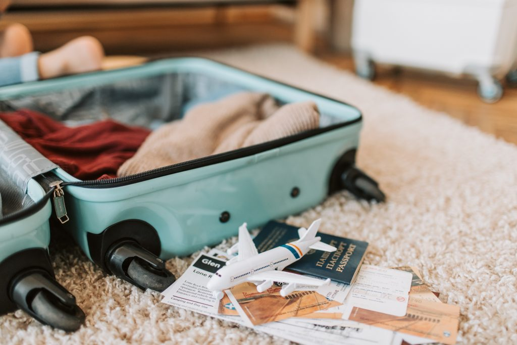 documents for Flying with a newborn baby